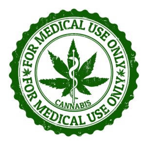 Marijuana Logo - For Medical Use Only